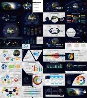 【全球化】大气炫目视觉 实用演示提案模板示例6