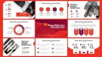 欧美 红色 创意 # 数据分析模板示例4