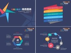 经典配色系列商务图表7(23套)