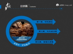 【原创】中国梦动态PPT模板示例3