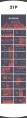 【商務】時尚個性紅藍雙色配色圖商務通用模板示例8