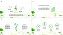 【动画】清新荷韵之绿中国风模板示例7