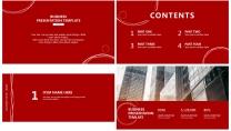 【红火】红色B极简高端大气商务报告年终汇报总结示例3
