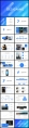 【藍色經典】現代商務匯報工作總結工作計劃模板示例3