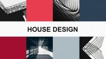 时尚简约杂志风建筑地产家居装修行业PPT模板