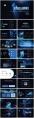 【商务】黑色蓝色工作通用模板80示例3