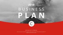 【简约商务】RED红商业计划网页杂志风PPT模板