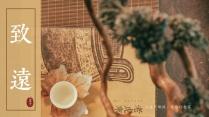 【诗画入境】远行客中国风画册模板