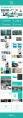 【4合1】高大上极简扁平化商业或展示通用模板示例7