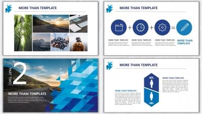 欧美杂志排版简洁高端实用ppt模板17