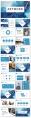【创意水彩】现代商务汇报总结报告模板示例3
