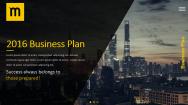 【耀你好看】黑黄画册级别商业计划书3
