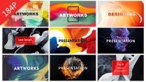 創意高品質工作計劃總結報告商務模板合集【含八套】