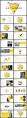 【幾何點線】創意現代簡約商務工作計劃合集【含四套】示例4