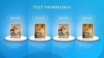 【色彩】炫彩动物环保奶业通用模板示例6
