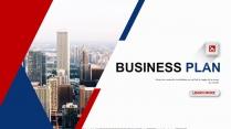 【双配色】大气企业文化/公司介绍/工作总结PPT示例2