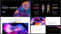 【油彩】艺术时尚画册级创意可视化多排版通用模版示例5