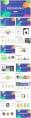【抽象艺术】计划总计商务路演通用模板示例3