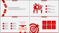 红色杂志风图文混排工作总结PPT模板(二)示例3