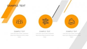 超级简约精美黄黑经典商务实用PPT模板-3示例6