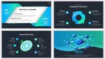 2018蓝色极简网页科技风PPT模板07示例4