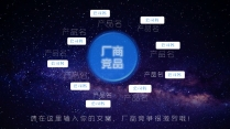 原创模板-科技人工智能区块链手机宇宙元素工作产品报示例4