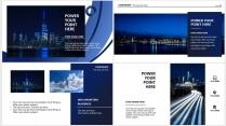 【青于蓝】科技C 蓝色极简大气商务工作总结年终汇报示例4