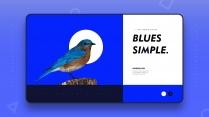 【极简主义9】上帝不小心打翻蓝色的颜料盘&创意杂志