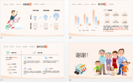 卡通 零售行业 商业计划书 模板示例5