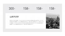 【商务】臻白典雅质感大气商务PPT模板示例5