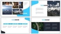 藍色雜志風工作匯報PPT模板示例5