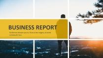 创意黄色年总总结工作计划商务策划模板