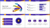 【商务中国】创意插画公司企业工作总结汇报PPT示例6