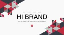 【极致商务】几何拼接公司介绍企业宣传商业工作PPT