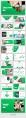 【經典商務】24P綠色沉穩企業公司匯報PPT模板示例5