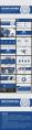 【耀毕业好看】蓝色沉稳素雅清新简约毕业答辩模板4示例7