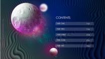 【发现你的宇宙】科幻未来视觉 太空多用途创意模版示例3