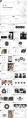 【创意几何】经典黑灰总结报告商务展示模板示例3