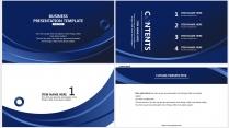 【青于蓝】科技C 蓝色极简大气商务工作总结年终汇报示例3