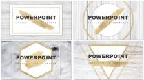 四套合集-素白铂金系列通用模板【80页】