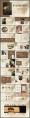 复古欧美画册风企业宣传总结报告模板示例8