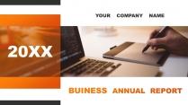 橙黑典雅—高端工作总结计划商务PPT