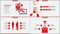 红色杂志风图文混排工作总结PPT模板(二)示例4
