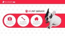 宠物养护医疗PPT模板示例4