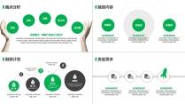绿色高端大气画册风商业计划书(附教程)示例5