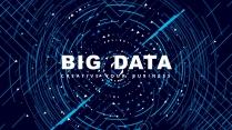 【動畫演示】智能線條大數據現代科技高品質商務模板