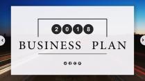 简约大图公司企业工作汇报PPT模板