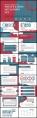 【简约复古】红色系大色块大气时尚单主题内容宣传模版示例3