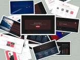 【Keynote】商务报告系列07_蓝红双色简约示例4