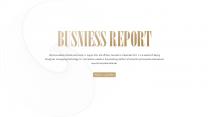 【商务】白色金色年中总结汇报&述职商务模板33